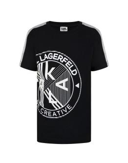 Karl Lagerfeld Boys Logo T Shirt