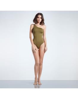 Firetrap Blackseal 1 Shoulder Swimsuit