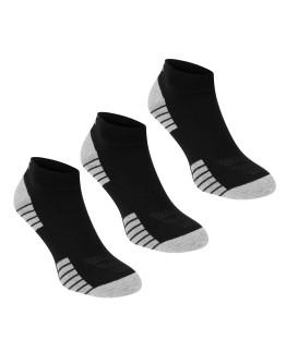 Under Armour Tech Quarter 3 Pack Socks