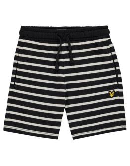 Lyle and Scott Stripe Sweat Shorts