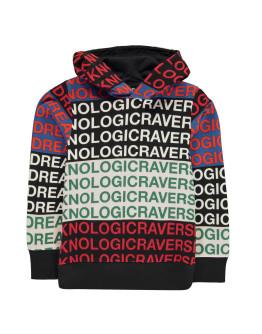 DIESEL All Over Print Hooded Sweatshirt