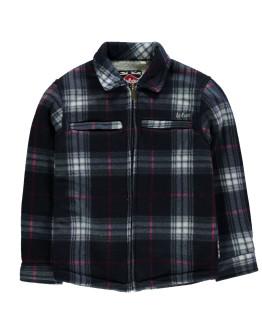 Lee Cooper Lined Full Zip Jacket Junior Boys