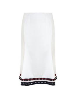 VICTORIA BECKHAM Flare Trim Skirt
