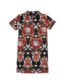 Firetrap All Over Print Dress Junior Girls