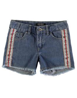 Guess Tape Denim Shorts