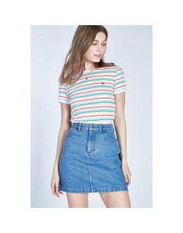 Jack Wills Hasley Stripe Ringer T-Shirt