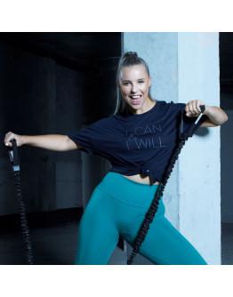 SportFX Chessie King Slogan T Shirt Ladies