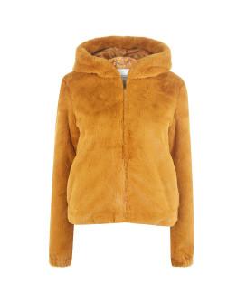 JDY Kiwi Faux Fur Hoodie