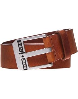 Diesel Bluestar Leather Belt